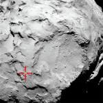 suolo della cometa C67P